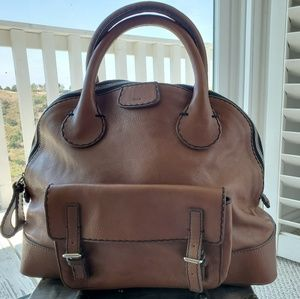 CHLOE nutmeg leather bag
